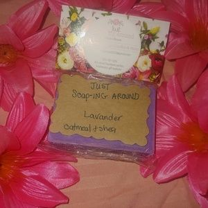 Homemade soap bar lot of 5 mixed mystery scents